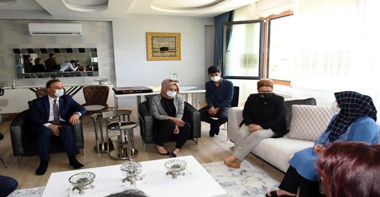 15 Temmuz Şanlıurfa şehidin ailesine ziyaret