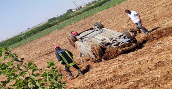 Akçakale'de trafik kazası