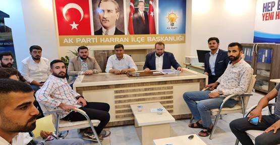 Harran AK Parti teşkilatı toplandı