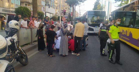 Şanlıurfa'da otobüsü yayaya çarptı