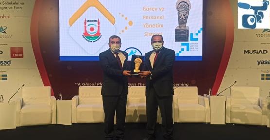 Şanlıurfa Büyükşehir Belediyesi, Akıllı Ulaşımda Ödülünü Aldı