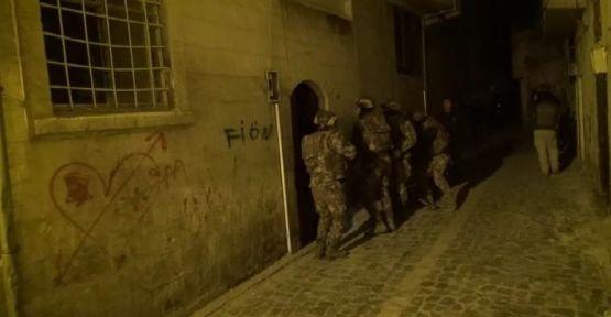 Şanlıurfa'da operasyonu, 7 gözaltı