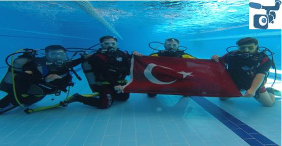 Şanlıurfa'da personele tüplü dalış eğitimi verildi