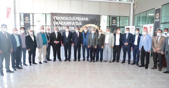 """TEKNOLOJİ FİDANI ŞANLIURFA'DA YEŞERİYOR"""""""