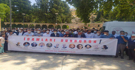 Urfa STK'lardan idam protestosu