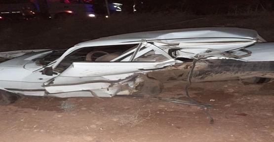 Şanlıurfa'da trafik kaza,sı 1 ölü, 3 yaralı