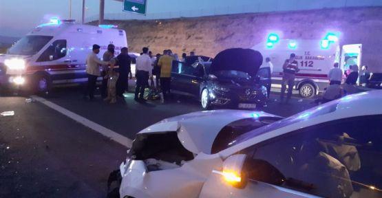 """Şanlıurfa""""da trafik kazası, 8 yaralı"""