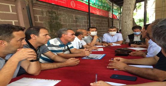 Şanlıurfa'da Kadastro Çalışmaları Gözden Geçiriliyor