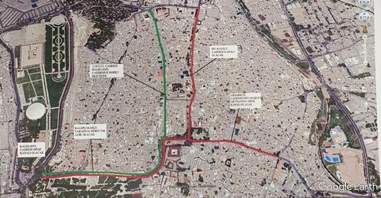 Urfa'da bu yolları kullanacaklar dikkat!