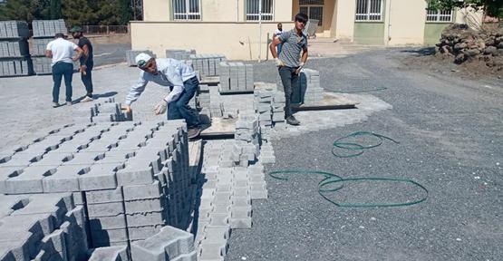 Viranşehir'de Cami ve taziye evlerinde çevre düzenlemesi