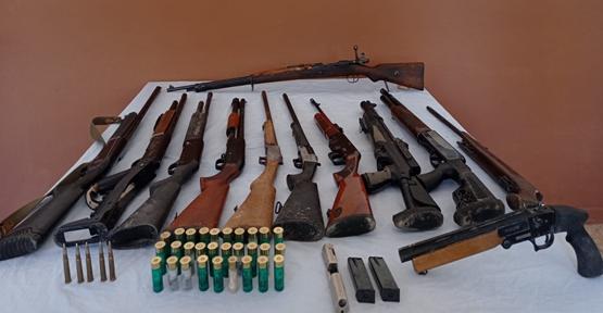 Şanlıurfa'da kaçak silah tamiratını operasyon