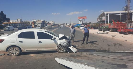 Şanlıurfa'da iki araç çarpıştı, 5 yaralı