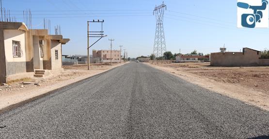 Suruç dinlence mahallesi yolu sathi asfaltla buluştu