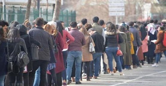 Türkiye'deki işsiz sayısı 506 bin kişi artarak 3 milyon 902 bin kişi oldu