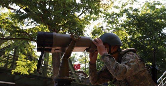 Urfa sınırda 9 terörist etkisiz hale getirildi