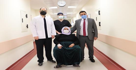 Iraklı Hasta Urfa'da Şifa Buldu