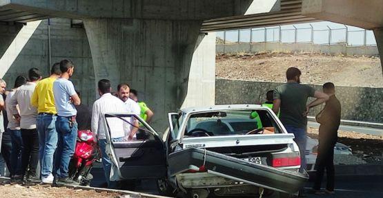 Karaköprü'de trafik kazas