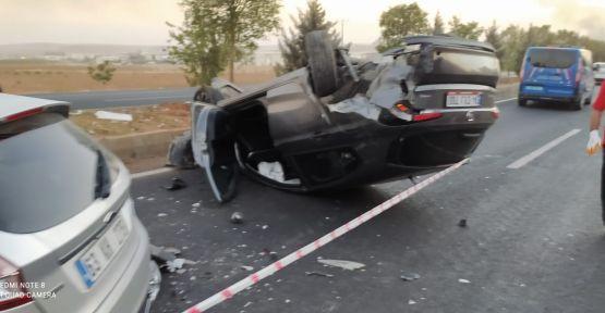 """Şanlıurfa""""da trafik kazası,  4 yaralı"""
