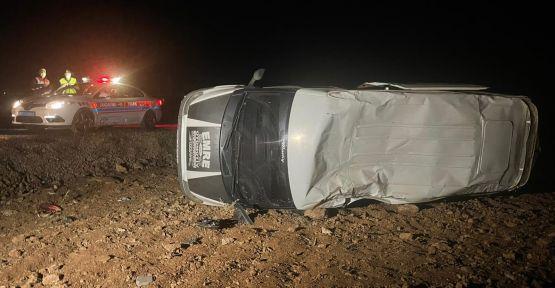 Urfa'da öğrenci servisi kaza yaptı,1 ölü, 6 yaralı