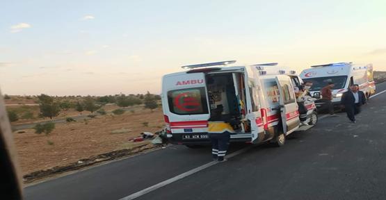 Urfa'da yine aynı yolda yine kaza, 3 yaralı