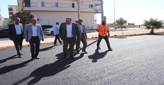 Yenişehir Mahallesinde asfalt serimine başlandı