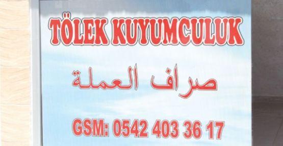 Akçakale'de Arapça ilanlar