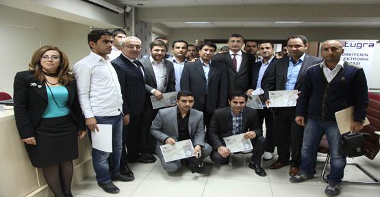 Başarılı muhasebecilere sertifika
