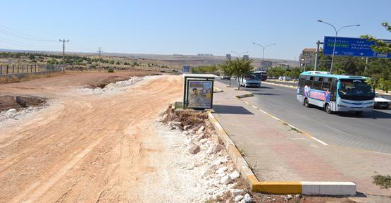 Diyarbakır Yol Genişletme Çalışması Sürüyor