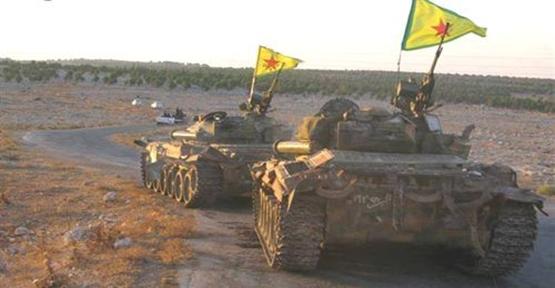 Esed'in PYD'ye Sığınan Tankları Kobani'ye Doğru Yola Çıktı