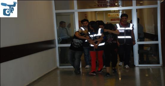 Fuhuş yapan Suriyeliler yakalandı