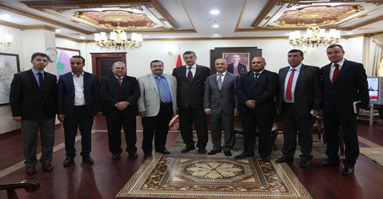 Güvenç Irak Nevroz Üniversitesi Heyetini Kabul Etti