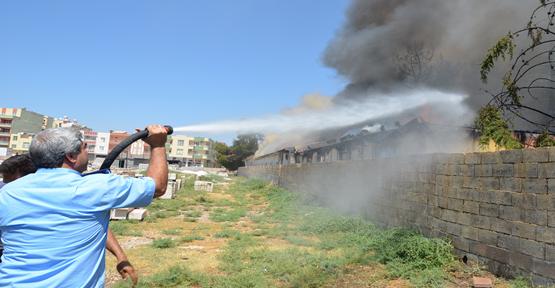 Hastane Binasında Yangın