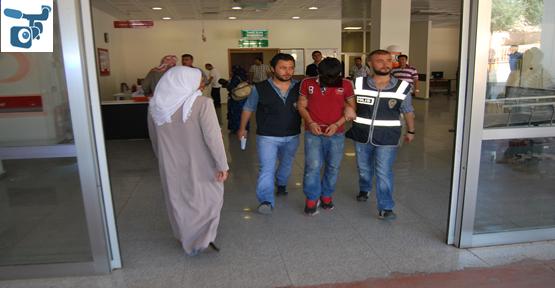 Hastaneden çaldı polise yakalandı