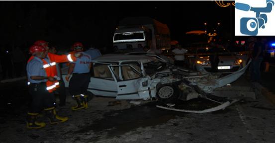 Karaköprü'de Zincirleme Trafik Kazası; 3 Yaralı