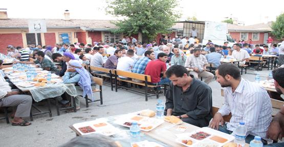 Konuklu Beldesinde 400 kişiye iftar