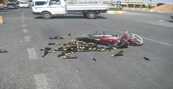 Motosiklet Kazası; 1 Yaralı