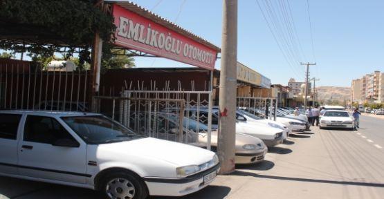 Şanlıurfa'da Araba satışları arttı