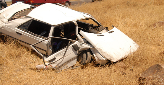 Şanlıurfa'da Otomobil Devrildi: 8 Yaralı