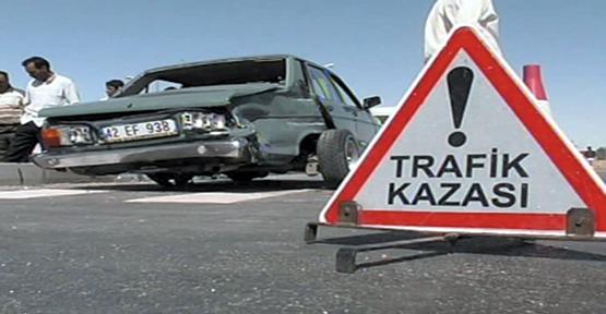 Şanlıurfa'da trafik kazası,6 yaralı