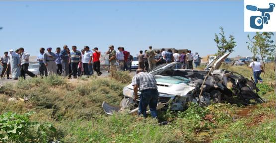 Şanlıurfa'da Trafik Kazası: 1 Ölü 2 Yaralı