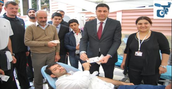 Sanlıurfaspor'dan Kan bağışı