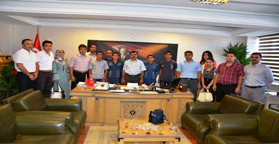 SBS Başarılı öğrencilerinden  ziyaret
