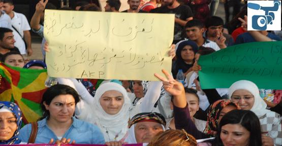 Suriye'den Gelen Kadınlarda Destek Verdi