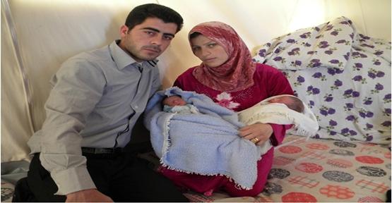 Suriyeli Bebeklere geçici kimlik veriliyor