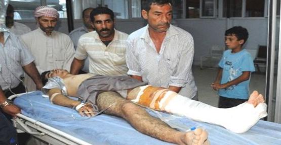 Tellabyat'tan Yaralılar Gelmeye Başladı