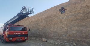 Kayalıklarda Mahsur Kalan Çocuklar Kurtarıldı