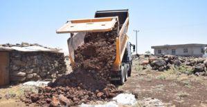 Viranşehir Belediyesinden Üçdam Kırsal Mahallesinde Stabilize Yol Çalışması