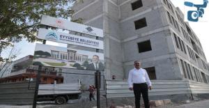 Eyyübiye'de Devasa Eserler Bir Bir Yükselmeye Devam Ediyor