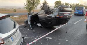 Şanlıurfaquot;da trafik kazası,...