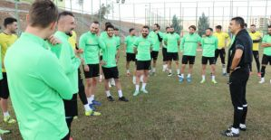 Şanlıurfaspor Zonguldak Kömürspor'a hazırlanıyor